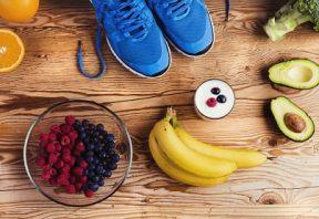 تغذیه مناسب و تمرین بدنی
