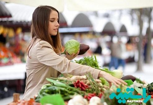 از بازارهای محلی خرید کنید