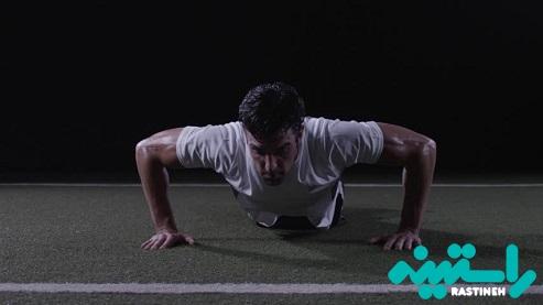 افزایش دما با ورزش