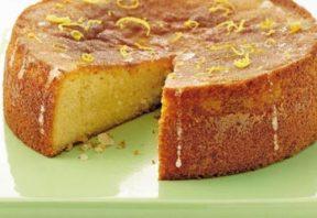 کیک بدون گلوتن با چاشنی لیمویی