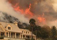 دود ناشی از آتشسوزی