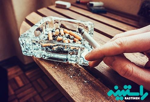 دود کردن و جویدن توتون و تنباکو