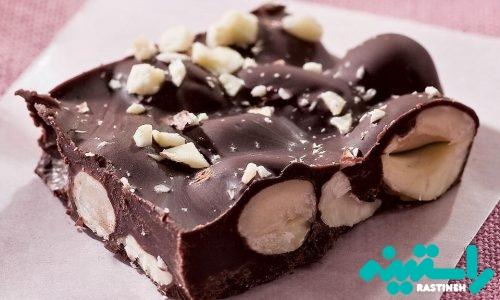 بارک شکلاتی آجیل
