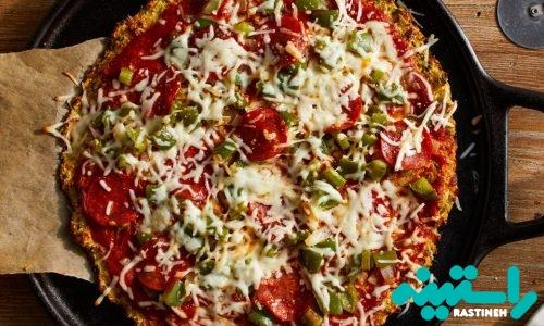 پیتزای گلکلم و پپرونی
