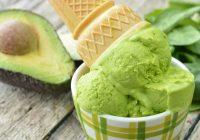 بستنی آووکادو