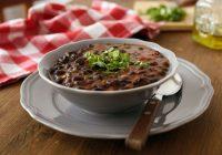 سوپ لوبیا سیاه