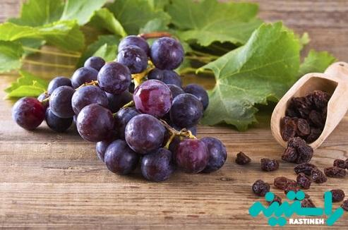 انگور و محصولات خشک شده آن