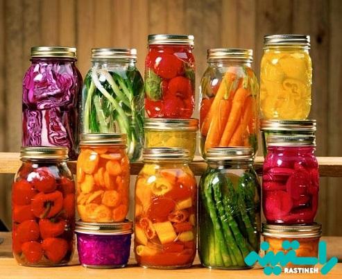 سبزیجات تخمیرشده