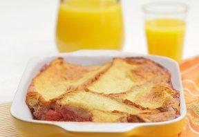 پودینگ نان – میوه برای صبحانه