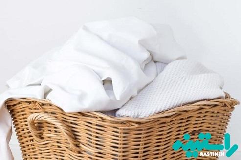 ملافههایتان را بشویید.