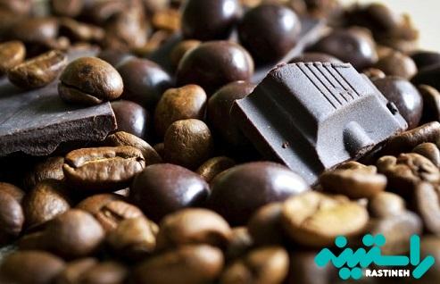 شکلات، قهوه و کافئین