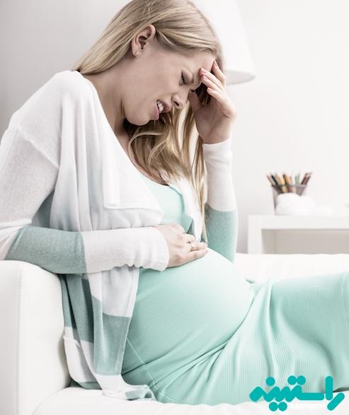 معده درد در بارداری