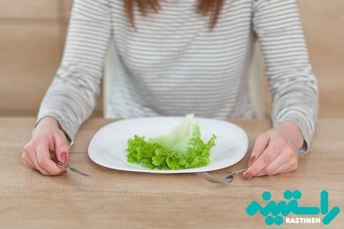 حذف وعده های غذایی