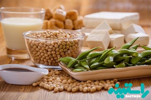 منابع غذایی حاوی فیتواستروژن ها