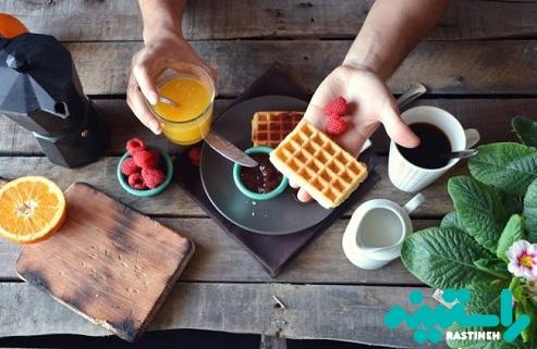 اجزای اصلی صبحانه کدامند ؟