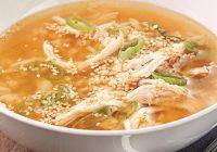 سوپ مرغ کُرهای