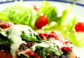 ساندویچ بادمجان کبابی