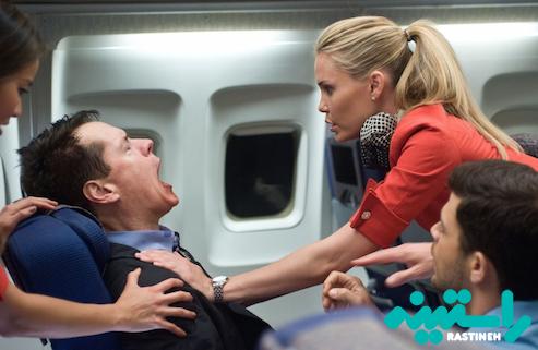 بیماران قلبی در هواپیما