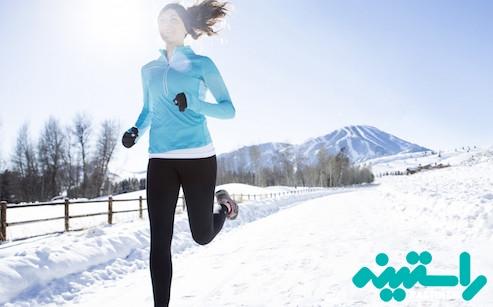 ورزش در سرما