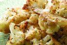 گل کلم کبابی با سرکه و پنیر پارمسان