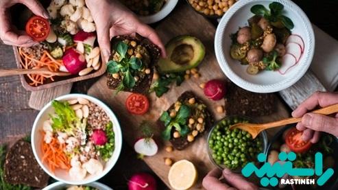 رژیم غذایی کم چرب و گیاهی