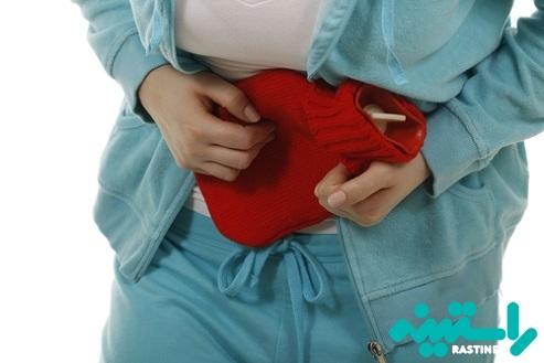 تسکین درد زیر شکم