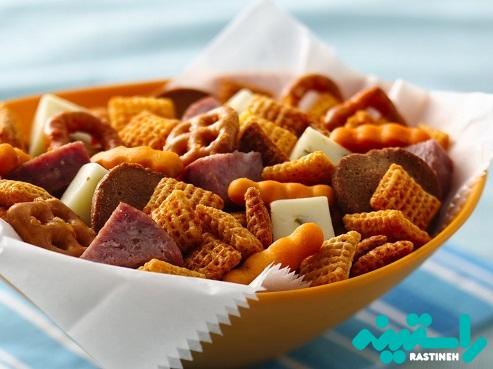 حذف خوراکی های مضر و نامناسب
