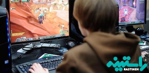اعتیاد به بازی های رایانه ای