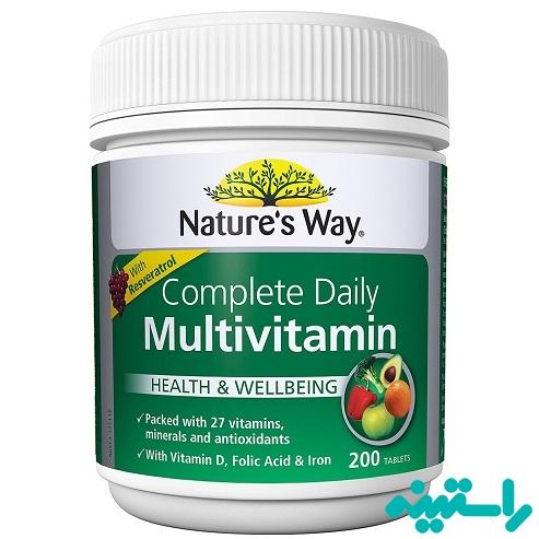 محصولات مولتی ویتامین