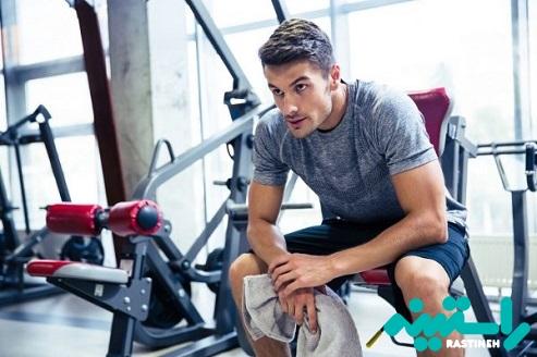 استراحت طولانی تر در حین وزنه زدن