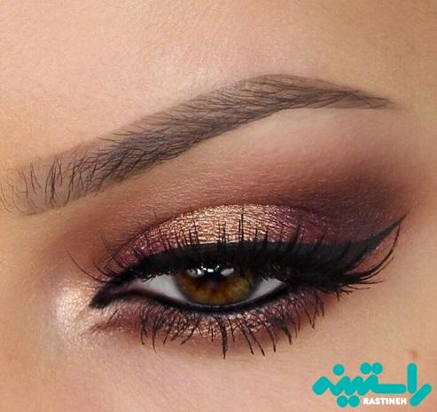 چشمان قهوه ای