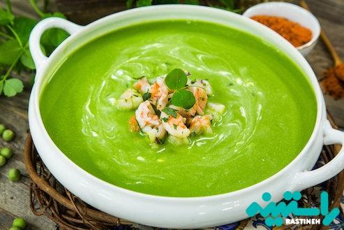 سوپ آووکادوی خام