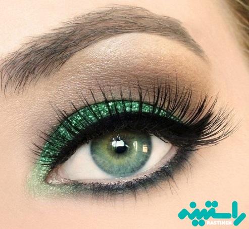 چشمانی سبز