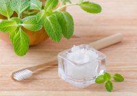 خمیر دندان گیاهی خانگی