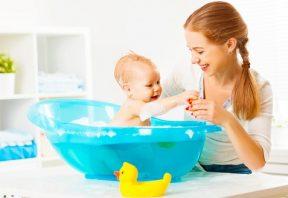 حمام کردن نوزاد
