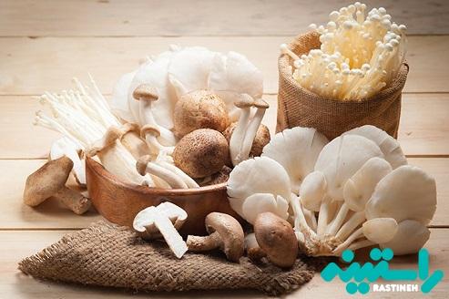 فواید سلامتی قارچ