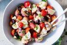 طرز تهیه سالاد سیب زمینی یونانی