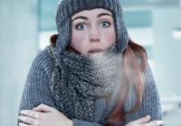 آب و هوای بسیار سرد