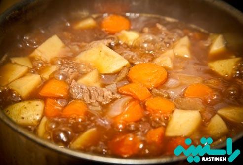 کلوستریدیوم پرفرنژنس: گوشت، خورش و سس گریوی