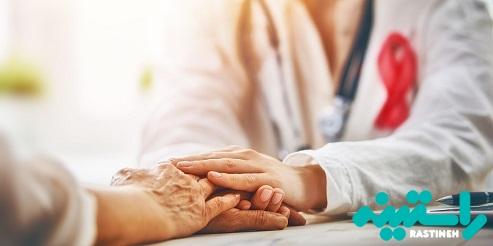 بیمار مبتلا به سرطان