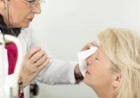 سوختگی چشم با مواد شیمیایی
