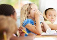بیماری های قابل انتقال در مدرسه