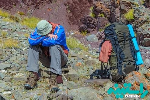درمان کوه گرفتگی و یا بیماری ارتفاع