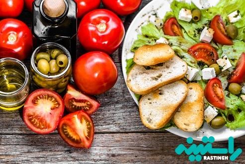 مصرف میوه و سبزی