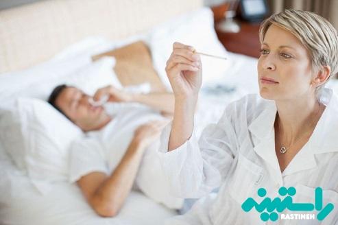 درمان تب