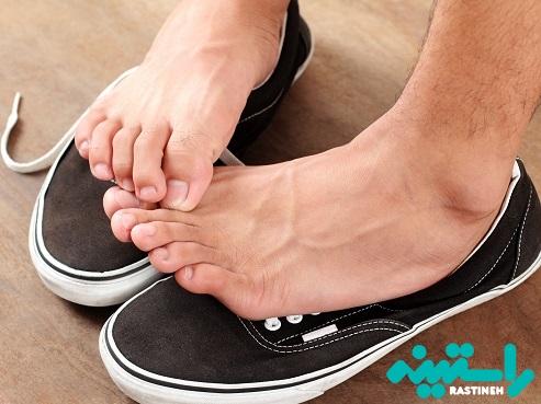 کفش نامناسب