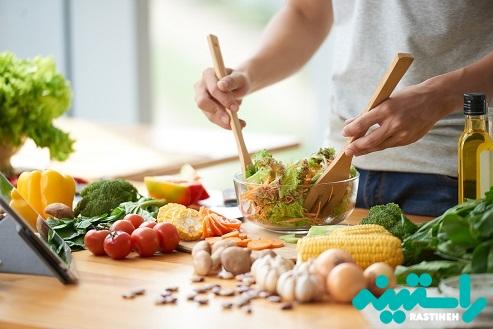 خوراکی های گیاهی