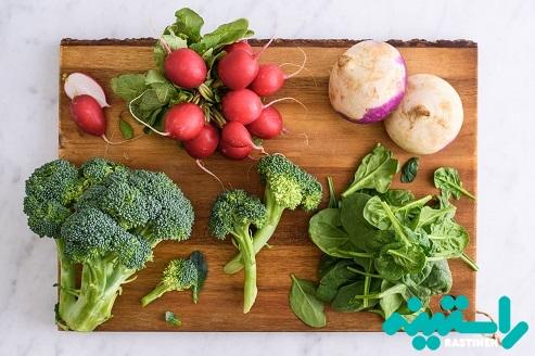سبزیجات حاوی کربوهیدرات پایین