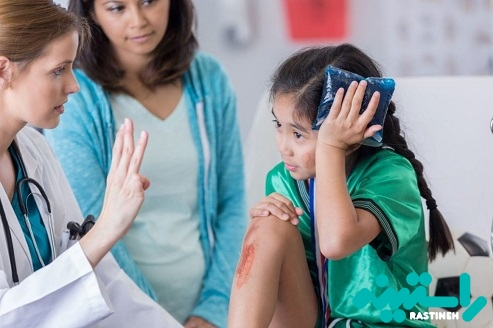 ضربه مغزی در کودکان