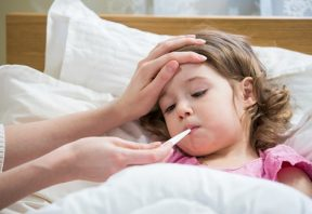 درمان تب در کودکان
